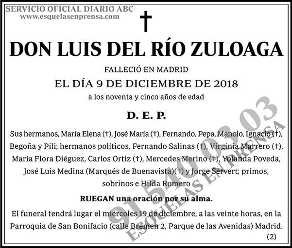 Luis del Río Zuloaga